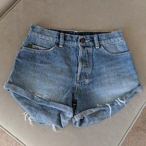 Ksubi denim shorts - great excellent condition